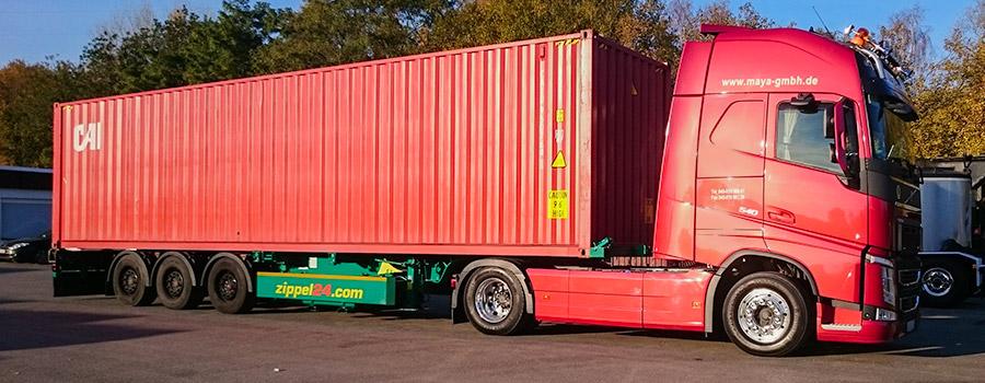 Ma-Ya Sattelschlepper Scania